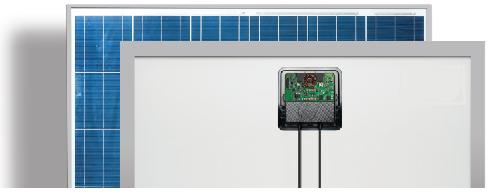 Smart solar panels